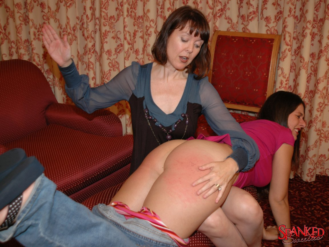 spanked at home The traditional post spanking position from Spanked at Home.
