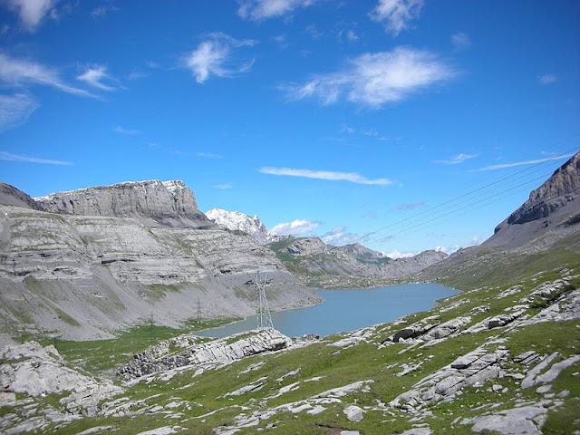 Passo del Gemmi col lago Daubensee