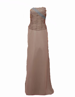 Prom Brown Color Brides-Bridal Dress
