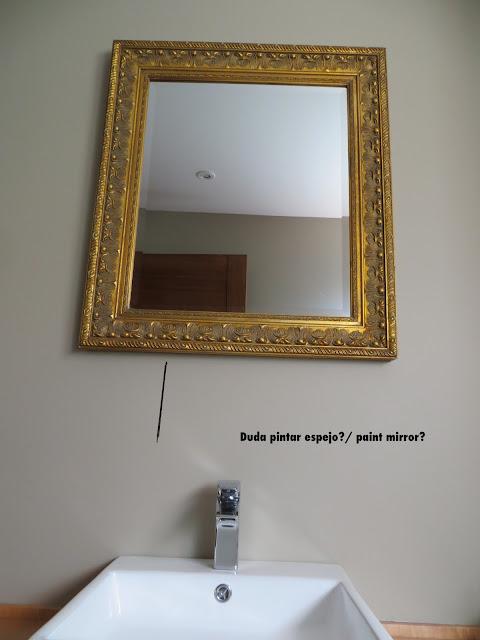 Decora y adora pintar espejo mirror paint - Que pasa si se rompe un espejo en casa ...