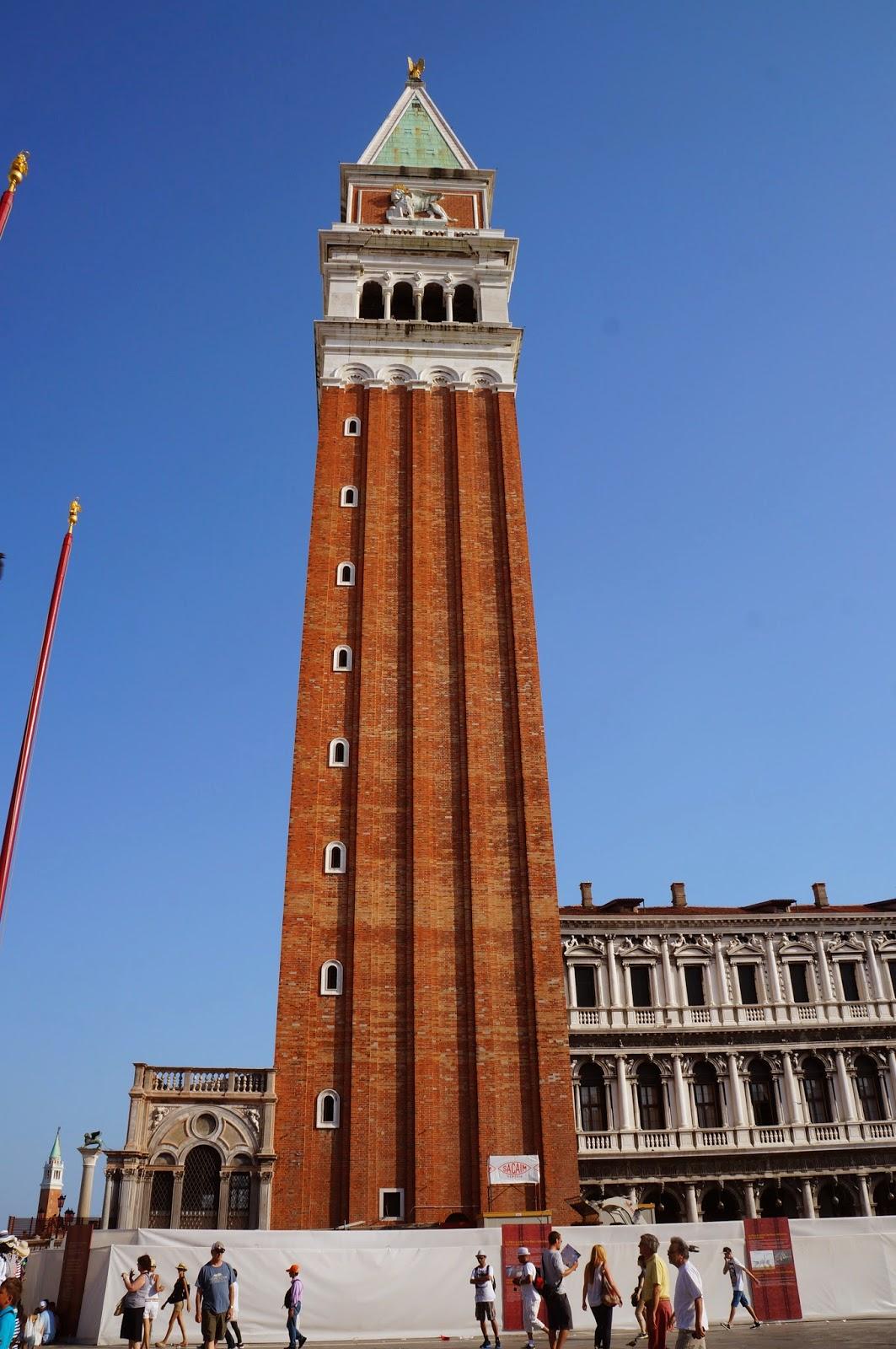 Башня на площади Сан Марко