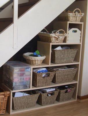 Aprovechar el rinc n bajo la escalera ideas para decorar - Mobili sottoscala ikea ...
