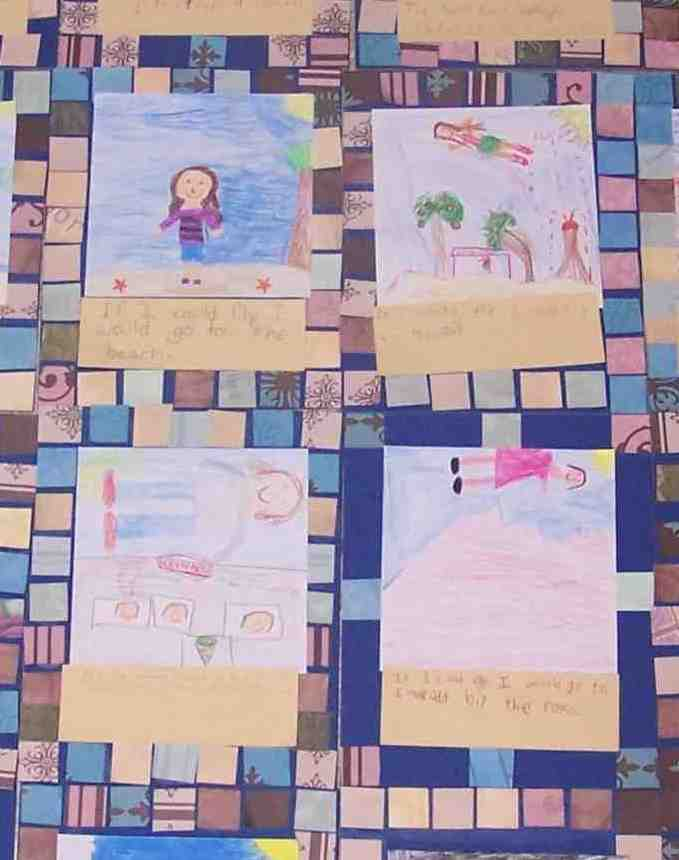 Create Art With Mrs P All About Me More Faith Ringgold Story Quilts
