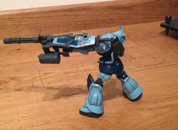 MS -07B - gunpla gouf custom