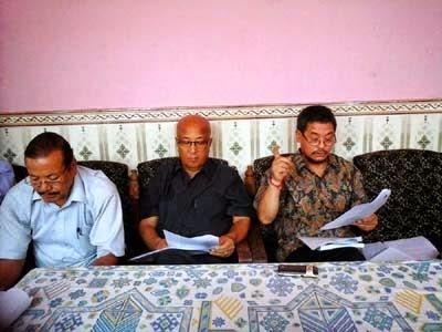 R Moktan_Enos das pradhan_Mahendra P Lama - DDUDF 11 point demand to PM Modi