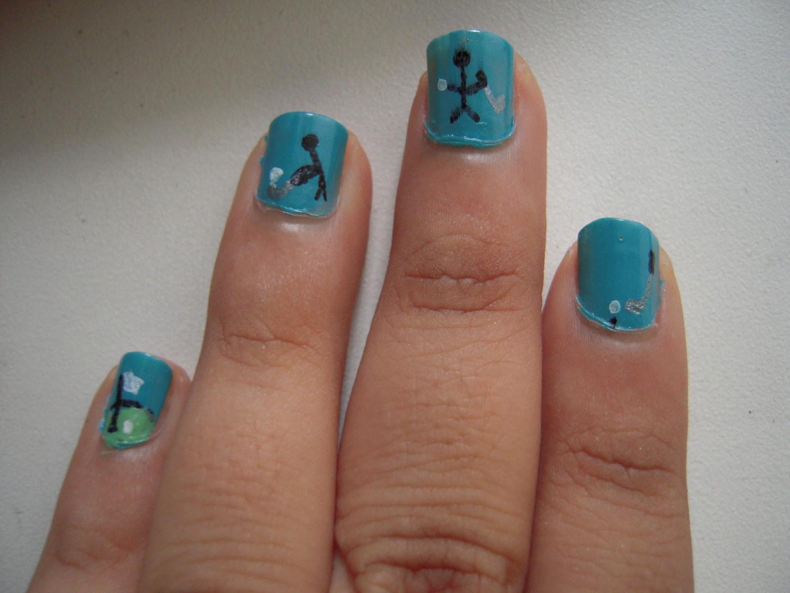 Reader Nail Art Week Day 3 The Daily Nail