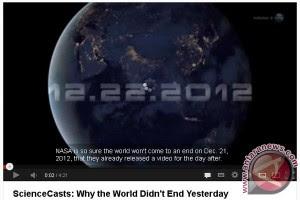 Penjelasan NASA Tentang Kiamat 21 Desember 2012
