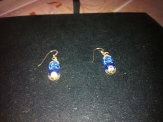 Tara 14 K Gold Sapphire Earring