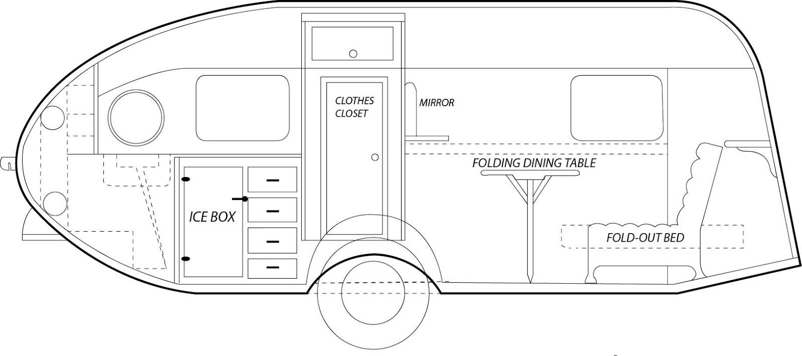 Airstream Interior Diagram Manual Guide Wiring Trailer Clipper Section Rh Theairstreamclipper Blogspot Com 2014 Safari