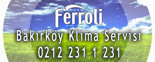 Ferroli Bakırköy Klima Bakımı