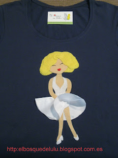 camiseta-customizada-fieltro-marilyn