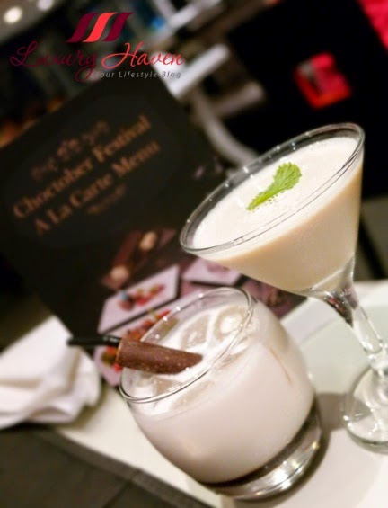 spices cafe chocolate cocktails minty way white forest