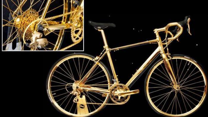 Wow! Sepeda Ini Lebih Mahal dari Mobil Ferrari.