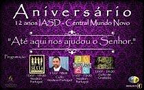 12º Aniversário IASD Mundo Novo