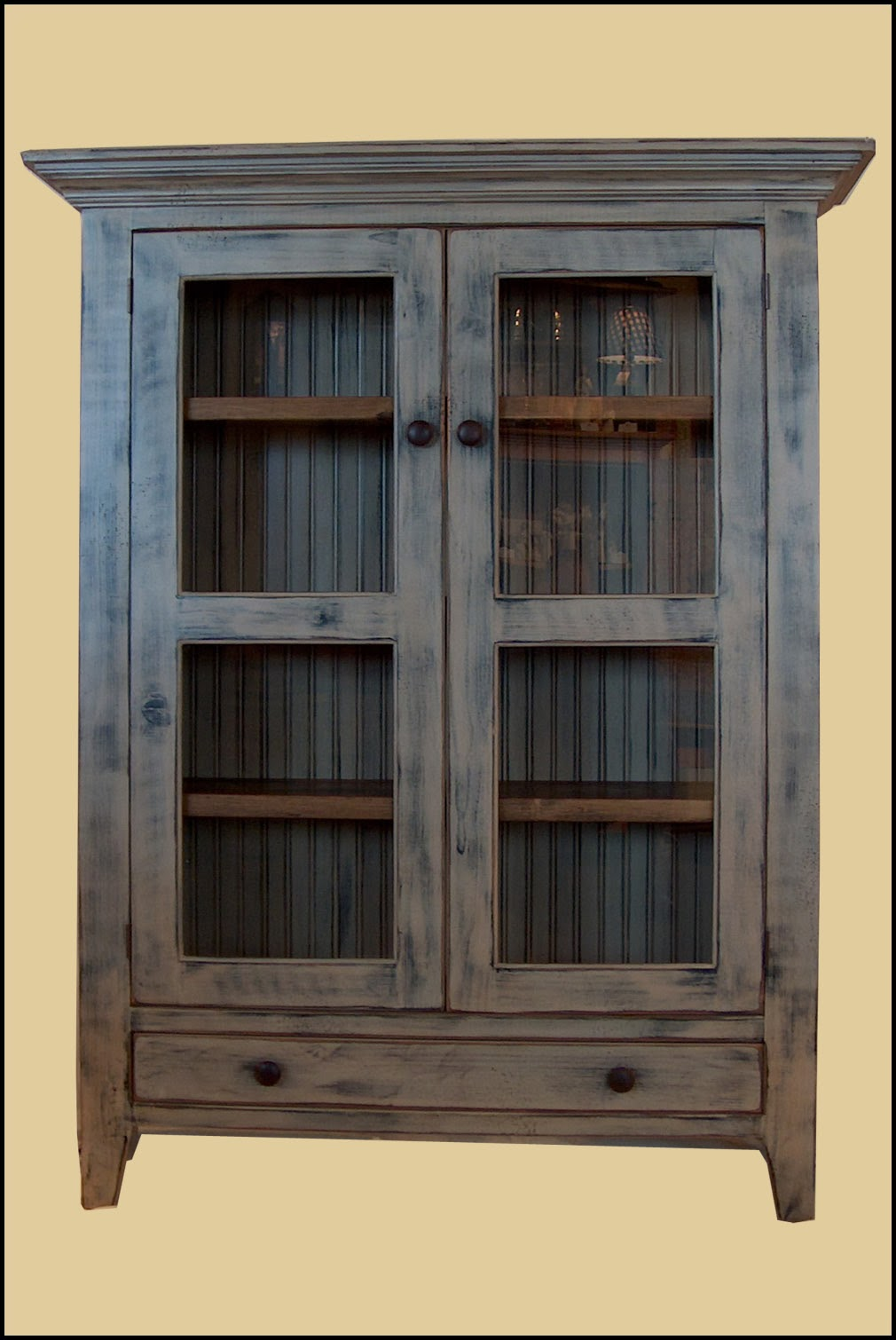cupboard amish peaceful door two valley jelly furniture
