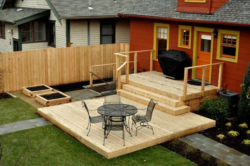 deck design ideas wood deck designs