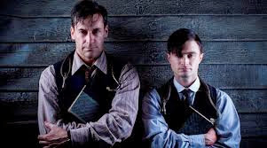 Jon Hamm & Daniel Radcliffe in A Young Doctor's Notebook screen shots
