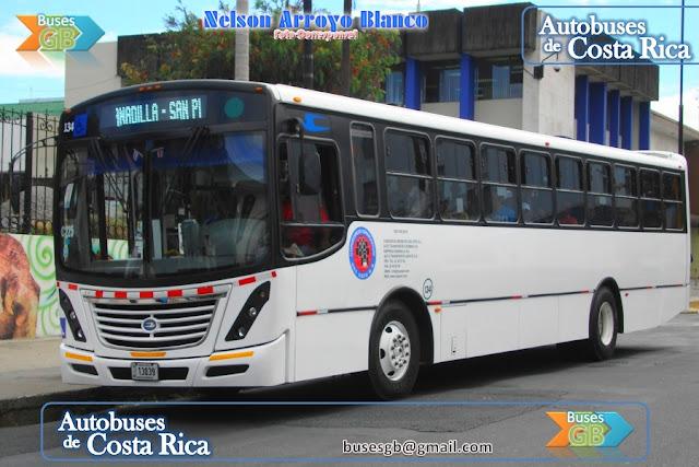 Autobuses de costa rica autobuses de costa rica urbanos for Mercedes benz san pedro
