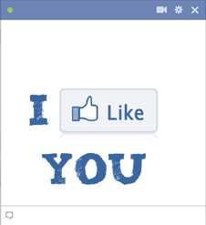 I like you facebook