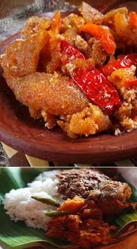 Resep Sambal Goreng Krecek Pedas Spesial - County Food