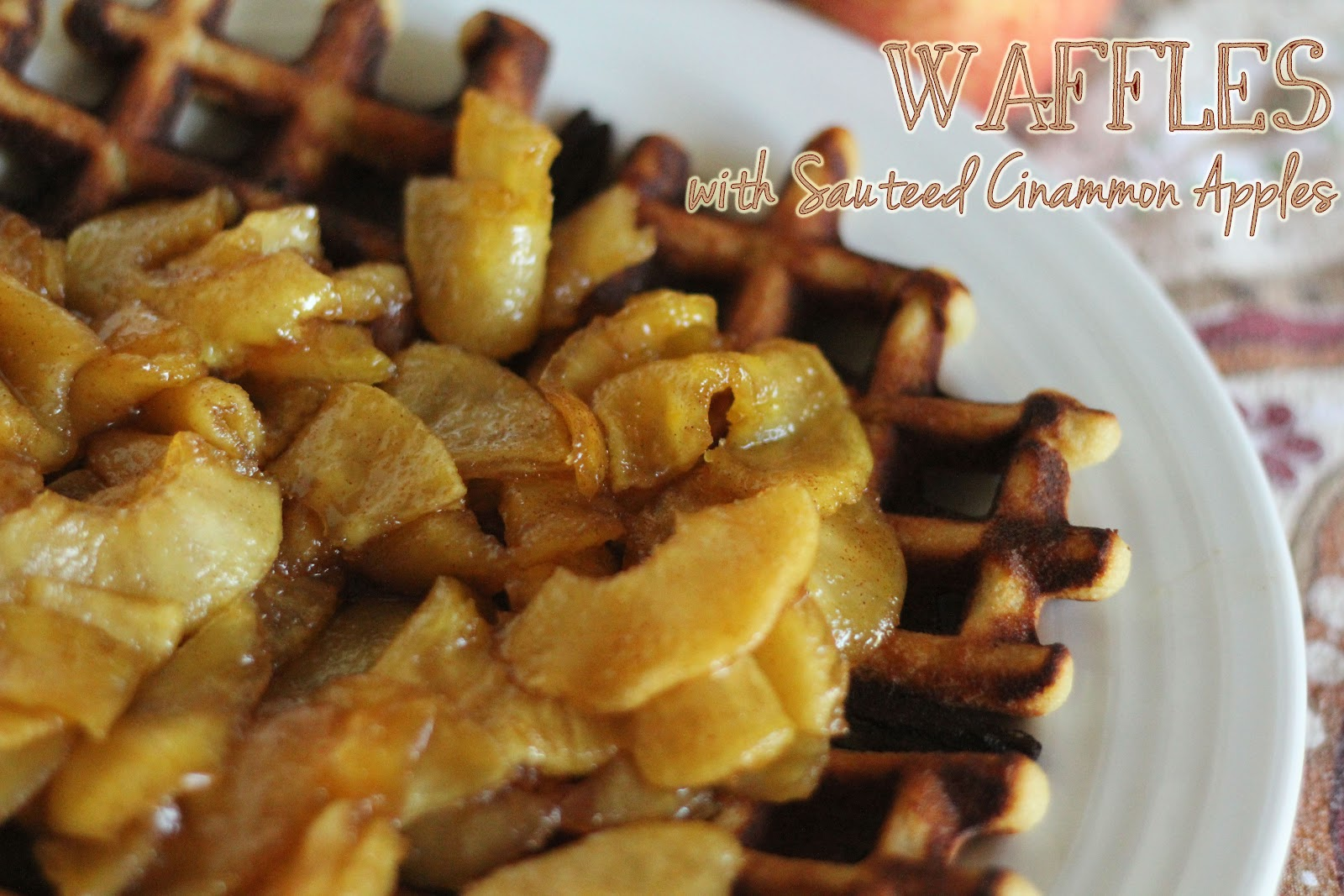 as the noonday: Sunday Brunch: Almond Flour Waffles & Pancakes