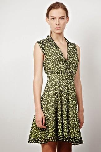 yeşil gece elbisesi