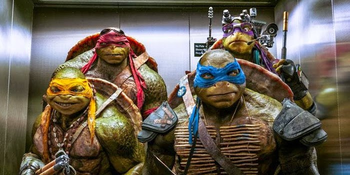 las tortugas ninja en el cine