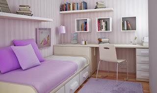 dicas para decorar um quarto feminino