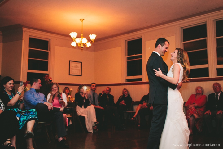Stern Grove Wedding San Francisco first dance