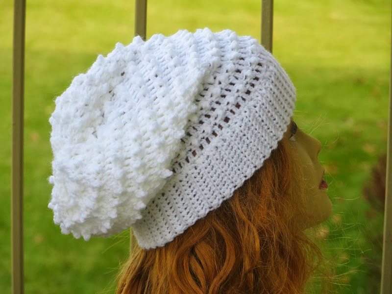 Crochet Slouchy Hat Pattern For Child : Slouchy Hat Crochet Pattern Crochet Newsboy Hat ...