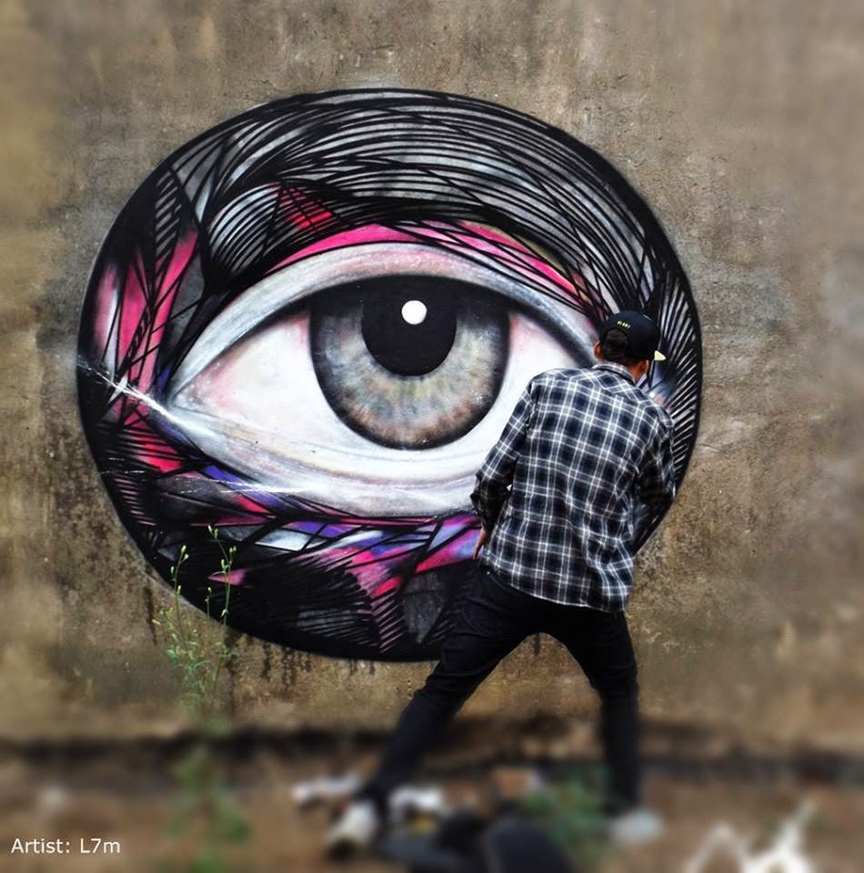 The Best Examples Of Street Art In 2012 And 2013 - L7m0 Sao Paulo, Brazil