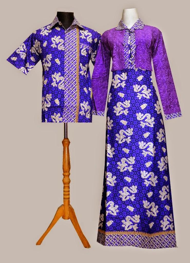 Koleksi Batik Murah Batik Sarimbit Gamis