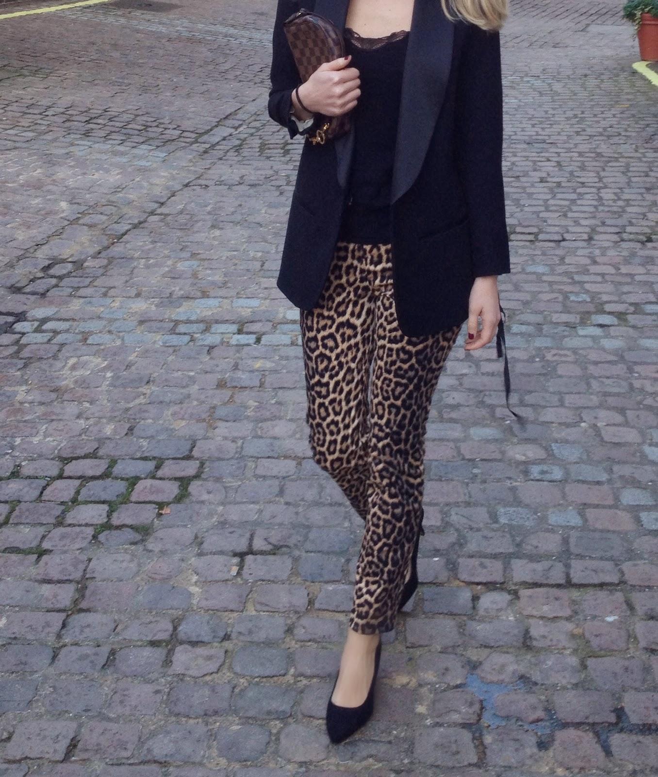 louis vuitton bag, louis vuitton, h&m blazer, h&M isabel marant blazers, isabel marant blazer, isabel marant tux blazer, leopard print pants