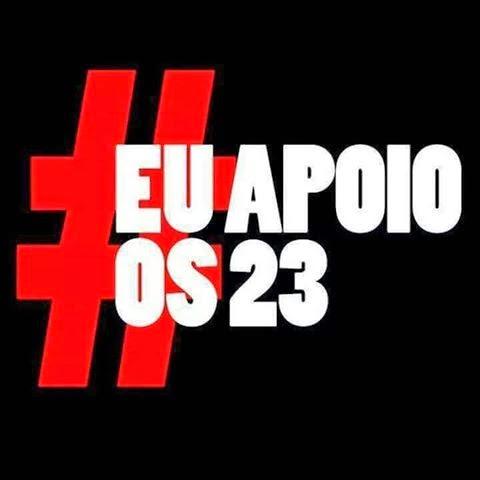 #EuApóioOs23