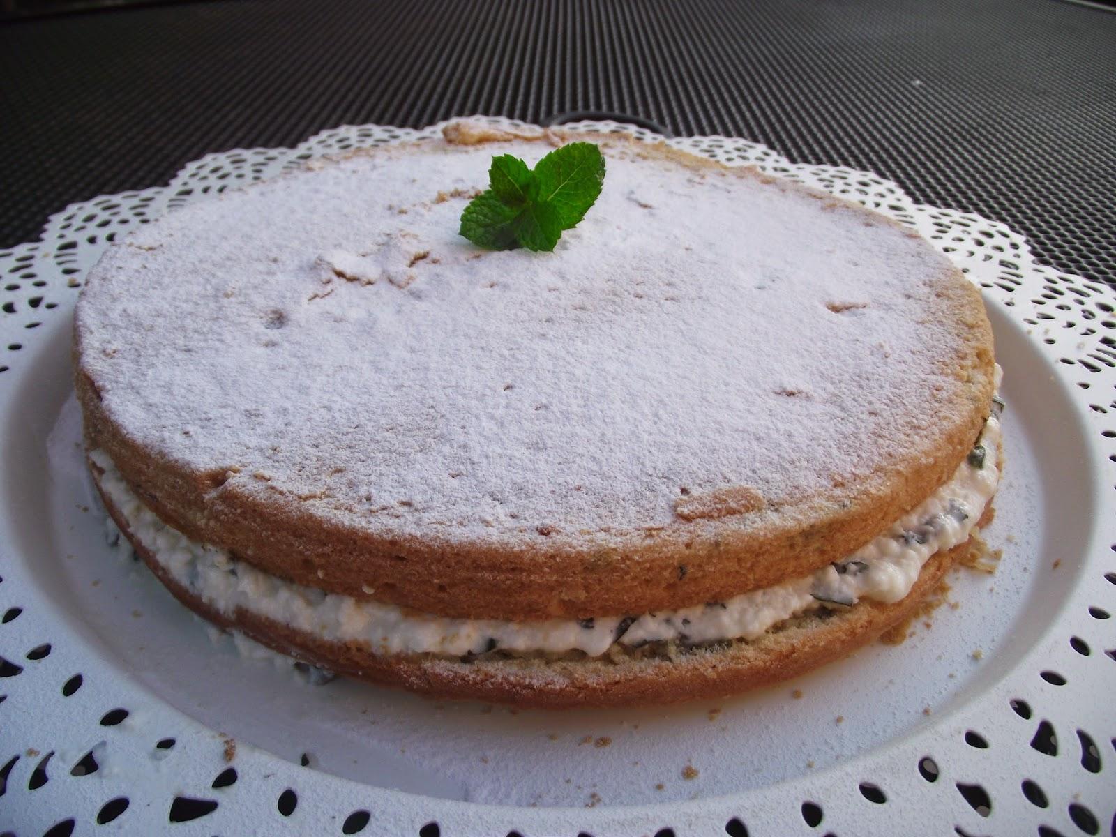 citromfűves torta recept