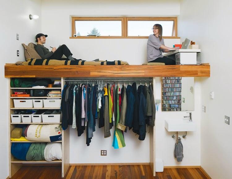 21 fotos de decoraci n de dormitorios peque os modernos 2018 for Dormitorios pequenos para adultos