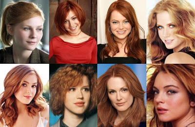 Top 8 Redheads of all time