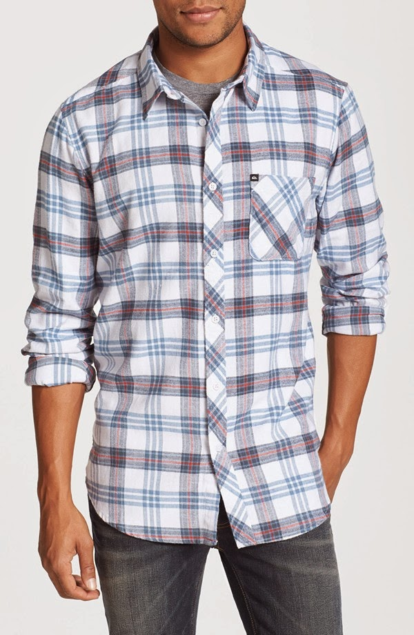Crystal tercera octopus soup plaid flannel shirt for Nice shirts for men