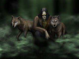 Wolf Killers Dark Gothic Wallpaper