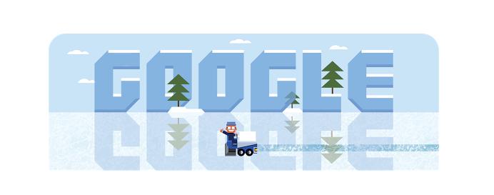Google Zamboni Game Doodle