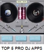 TOP 5 DJ TURNTABLE APPS