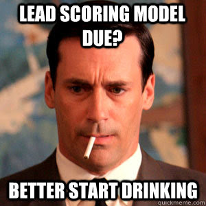 Reasons lead scoring fails