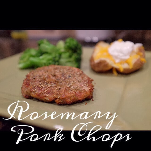 Choosing joy what 39 s for dinner rosemary pork chops - Choose best pork ...