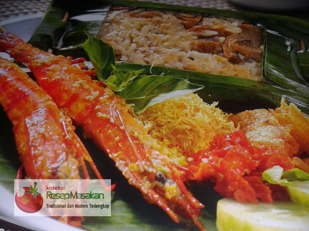 Resep Nasi Bakar Udang