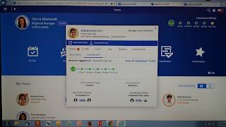 New Ceridian Dayforce Employee Profile inside of MSS