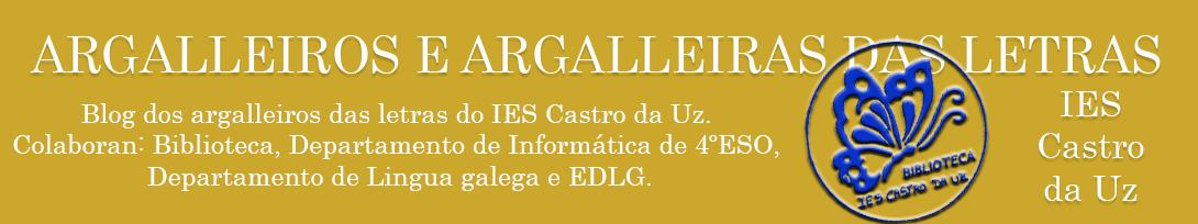 ARGALLEIROS E ARGALLEIRAS DAS LETRAS