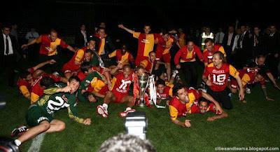 Galatasaray Declared Championship At Kadıköy Şükrü Saraçoğlu Stadium