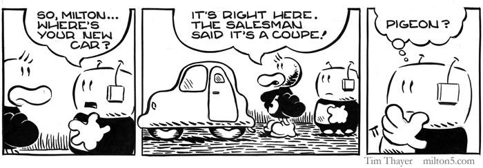 Milton Comic Strip