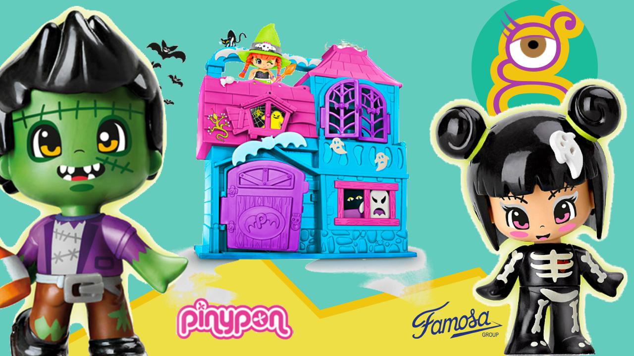 Casa del terror de pinypon pinymonster terror house haunted house - juguetes pinypon en tremending girls