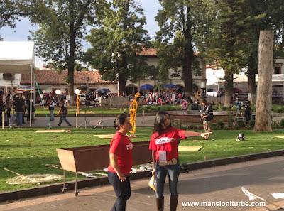 Jovenes Pátzcuarenses participan en Yo Yoy Pátzcuaro